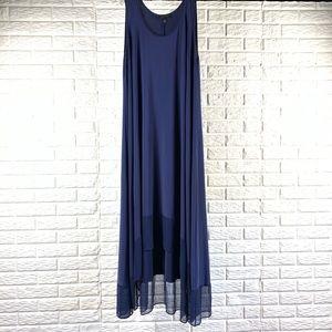 Lane Bryant flowy blue high low maxi size 22 / 24